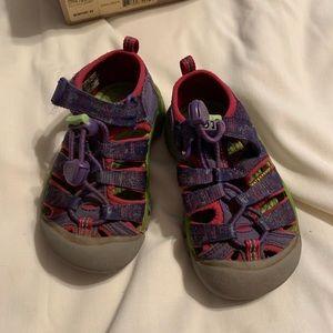 Girls Keen Sandals - size 8 (toddler)